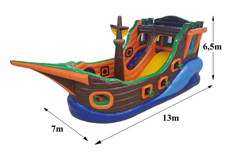 Atrakcija Pirātu kuģis